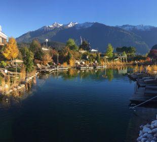 Naturbadeteich Alpenresort Schwarz
