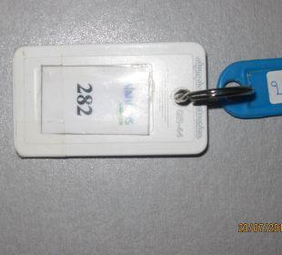 Schlüssel Zimmer 282, Vantaris Annex Garden Vantaris Beach Hotel