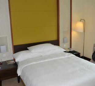 Viel zu kleines Bett Vida Hotel Downtown Dubai