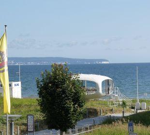 Der Blick auf die Ostsee aus dem Zimmer Grand Hotel Binz by Private Palace Hotels & Resorts