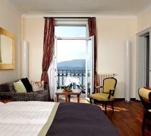 Doppelzimmer Superior mit Seesicht Art Deco Hotel Montana Luzern