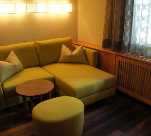 Couch im Rösslzimmer Romantik Hotel Im Weissen Rössl