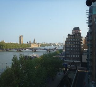 Ausblick vom Zimmer (executive) Park Plaza Riverbank London