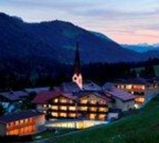 Hubertus Abenddämmerung Hubertus Alpin Lodge & Spa