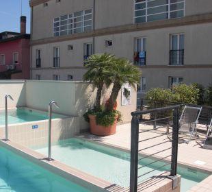 Kleiner Pool Hotel Eden Lido Di Jesolo