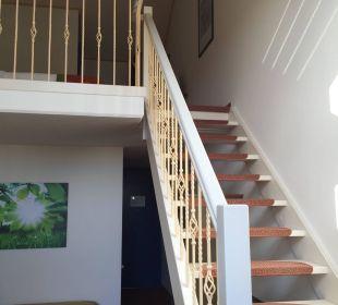 Treppe zum Schlafzimmer Center Parcs Park Zandvoort - Strandhotel