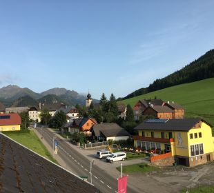 Ausblick Hotel Lanz