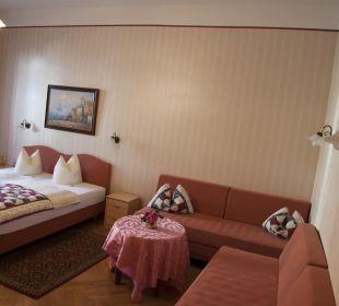 Doppelzimmer auch als Familienzimmer nutzbar Pension Bismarck