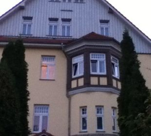 Rückseite des Hauses Wellnesshotel Jagdhaus