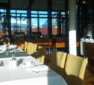Sonnendurchflutetes Restaurant Hotel The Penz