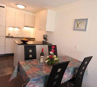 Küche 2-Zimmerwohnung Ferienwohnungen Azur