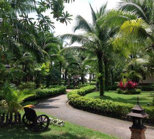 Schön, sauber, grün  Hotel Mukdara Beach Villa & Spa Resort