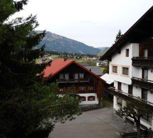 Blick zum Balkon Vital Hotel Zum Ritter
