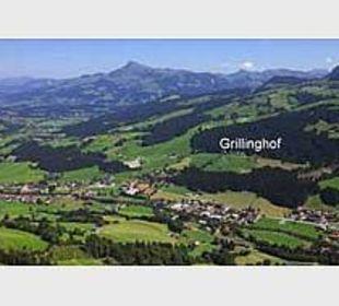 Lage des Grillinghofes Grillinghof