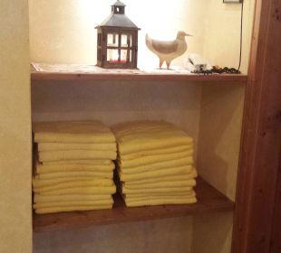 Immer saubere & neue Handtücher Romantik Hotel Sonne