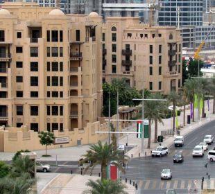 View from Al Manzil Hotel Vida Hotel Downtown Dubai