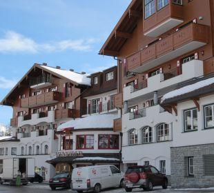 Ansicht vom Turm Hotel Schneider