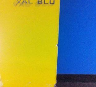 Flurbereich Val Blu Resort Spa & Sports