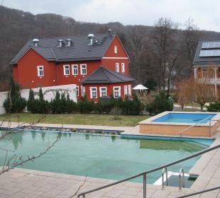 Pool mit Kinderbecken Ferienpark Bodetal