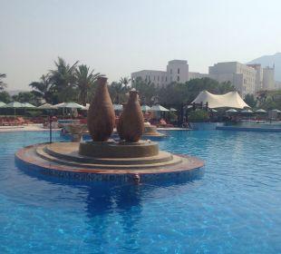 Pool Hotel Le Meridien Al Aqah Beach Resort