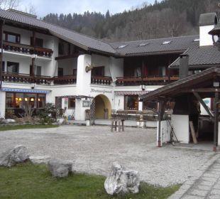 Innenhof Forsthaus Graseck (Vorgänger-Hotel – existiert nicht mehr)