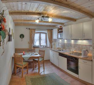 Gästeküche Bauernhof Holznerhof