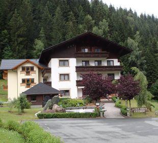 Eingang zur Pension Gasthof Pension Birkenhof