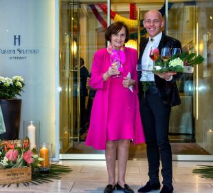 Frau Strohmer, Besitzerin Hotel Europa Splendid