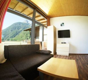 Top 2 Ausblick von der Couch Apartments Bauernhof Dismasn Hof
