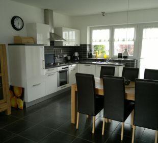 6 Personen-Haus Nr. 91 a - Küche und Eßecke Eve Resort & Spa