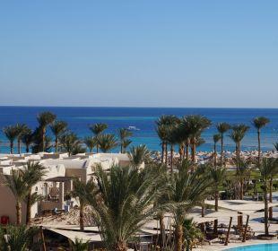 Blick vom Aussichtsturm Hotel Iberotel Makadi Beach