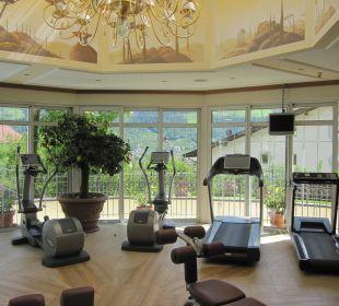 Der Fitnessraum DolceVita Hotel Preidlhof