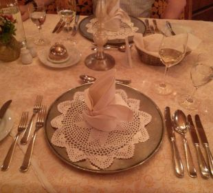 Das Dinner kann beginnen Hotel Krallerhof