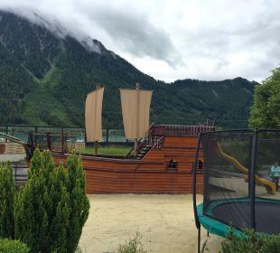 Piratenschiff Rieser's Kinderhotel Buchau