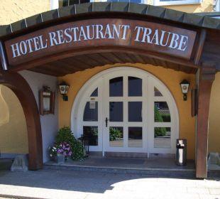 Lobby/Eingang Hotel Traube