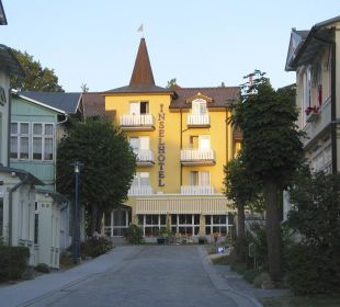 Da ist es! Inselhotel Rügen B&B