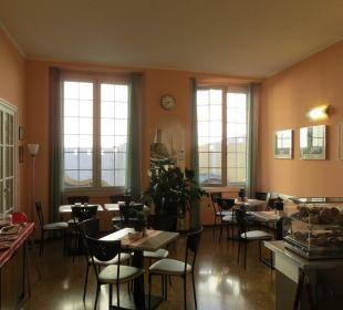 Der Frühstücksraum Hotel Cairoli