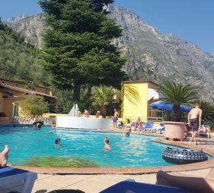 Oberer Pool Hotel Cristina