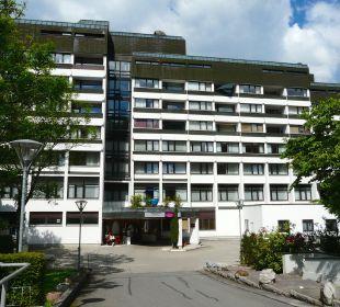 Der Eingangsbereich Mercure Hotel Garmisch Partenkirchen