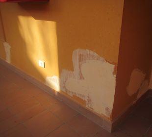 Eine Wand vom Hatelgebäude Stella Di Mare Beach Resort & Spa Makadi Bay