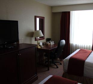 Flatscreen Schreibtisch Hotel Holiday Inn Express Toronto Downtown