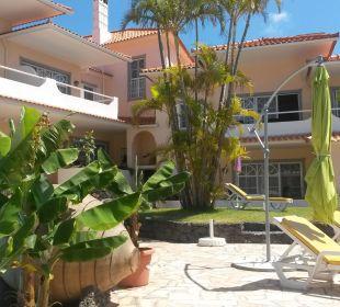 Blick aufs Hotel Villa Opuntia