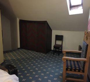Großes Schlafzimmer  MIRA Hotel Schloss Rosenegg