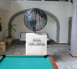 Billardtisch im Untergeschoss