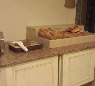 Wenigstens ein bischen Brot zur Auswahl! Martı Resort De Luxe