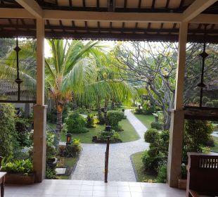 Blick aus der Lobby COOEE Bali Reef Resort