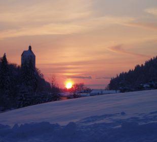Sonnenuntergang Hotel Alpenhof