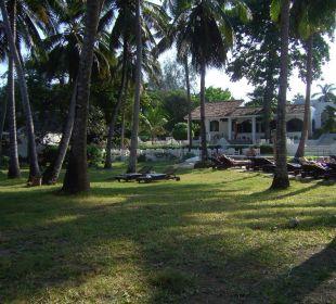 Liegebereich Hotel Diani Sea Lodge