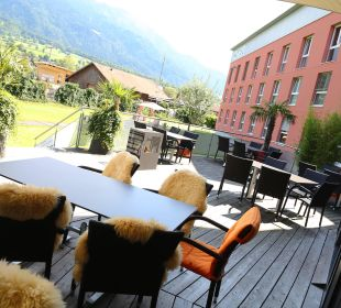 Terrasse Swiss Heidi Hotel