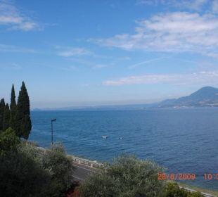 Blick vom Balkon Hotel Residence Castelli